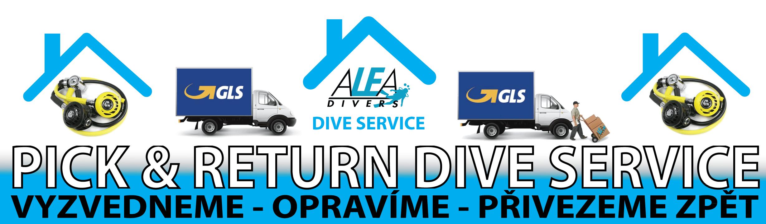 Sluzba ALEA Divers Pick and return