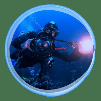 Profesionální fotograf ALEA Divers