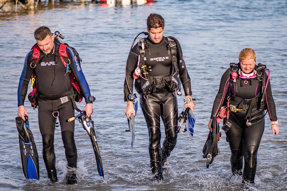 Kurz potápění v moři
