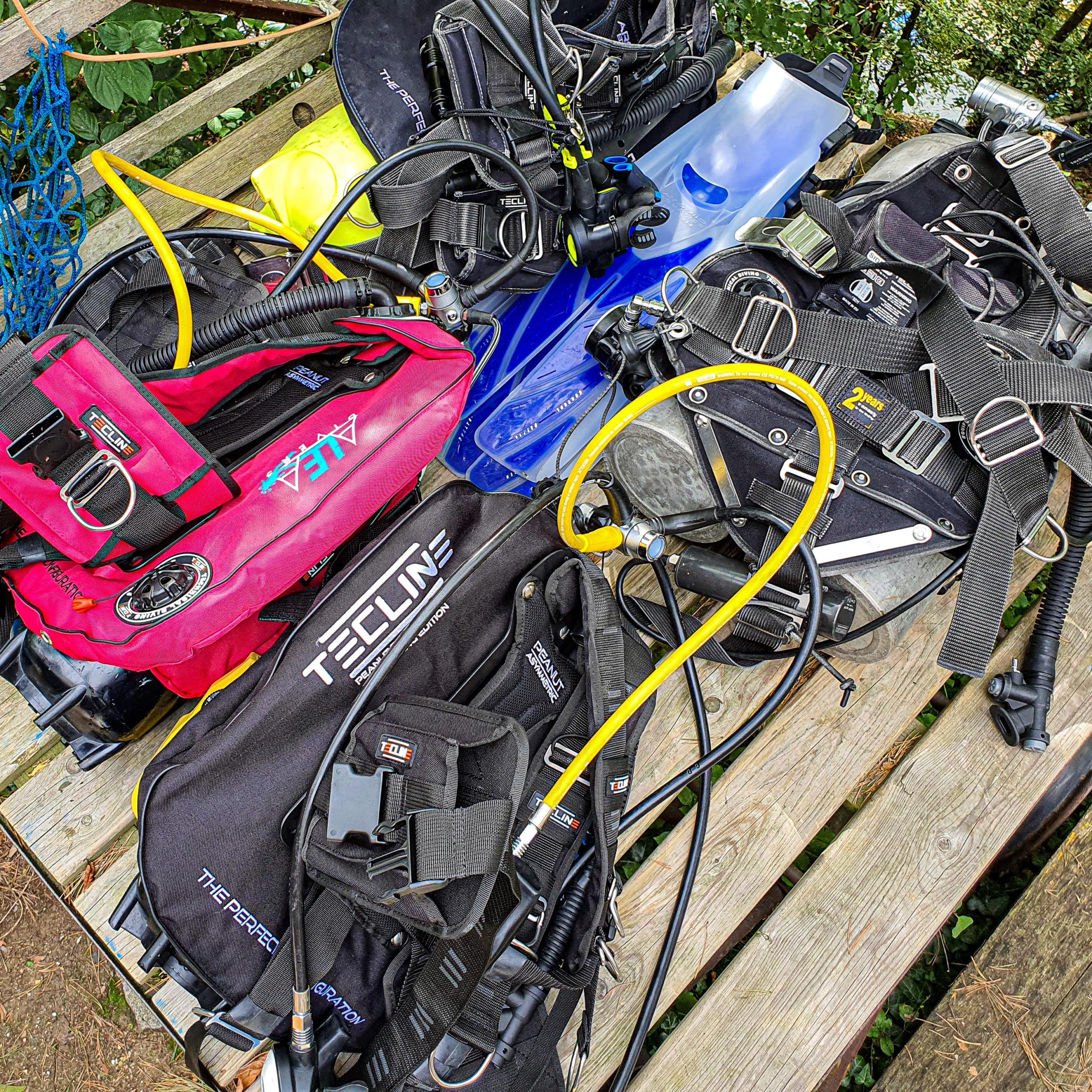 alea divers equipment all
